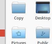 the copy folder